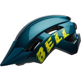 Bell Sidetrack II Helmet Youth blue/hi-viz